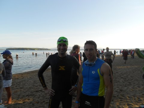 Timberman Swim Start