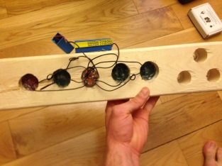 LED:Lens Breadboard Back
